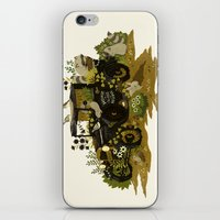 home sweet home iPhone & iPod Skins featuring Home Sweet Home by Teagan White