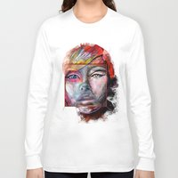 mirror Long Sleeve T-shirts featuring mirror by Irmak Akcadogan