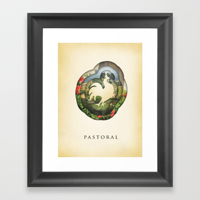 pastoral Framed Art Print