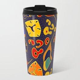 African Fancy Travel Mug