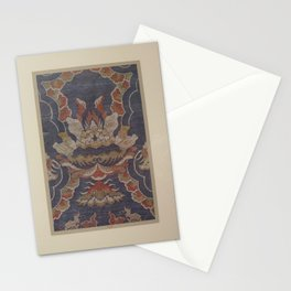 Verneuil - Japanese paper and fabric designs (1913) - 78: Ornamental pattern Stationery Cards