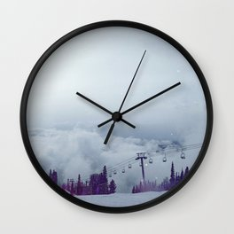 Snow galaxy? Wall Clock
