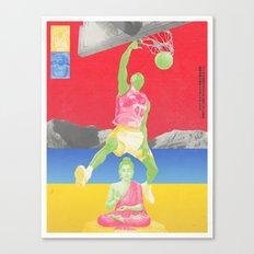Valiantly Strive To Banish & Annihilate The Buddha Canvas Print