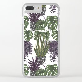 green thumb Clear iPhone Case