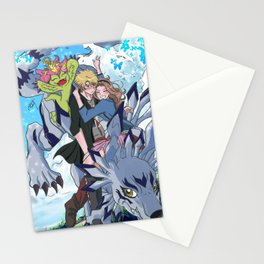 Digimon Tri Mimato Stationery Cards