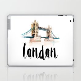 London watercolor Laptop & iPad Skin