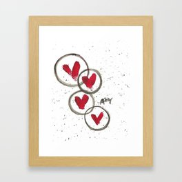 Love Connection Framed Art Print
