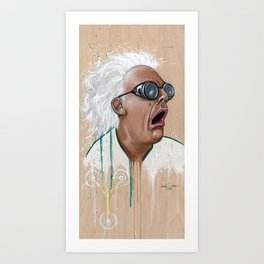 Great Scott! Art Print