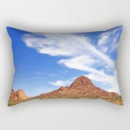 Landscape near Spitzkoppe, Namibia Rectangular Pillow