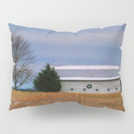 Christmas Barn Pillow Sham