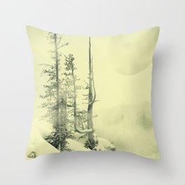Forbidden Planet Throw Pillow