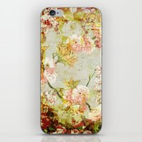 climbing iPhone & iPod Skins featuring climbing flowers by clemm