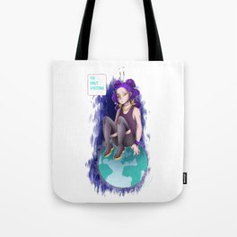 Only Visiting Tote Bag