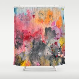 Abstract No. 595 Shower Curtain