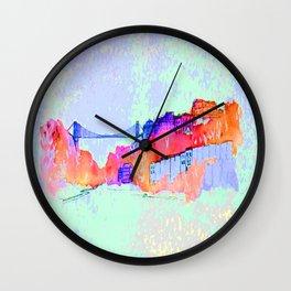 Bristol Cityscape Digital Wall Clock
