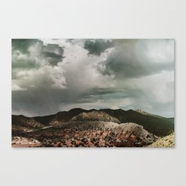 Jump Over the Hills Canvas Print