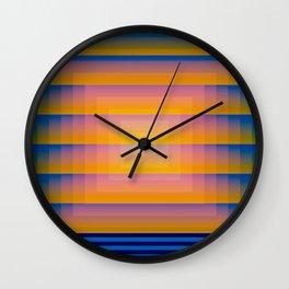 Gradient Fades v.1 Wall Clock