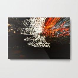 Wingz of Steel [Lightz.02] Metal Print