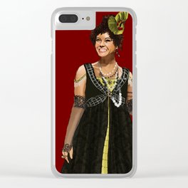 Helene is a Slut Clear iPhone Case