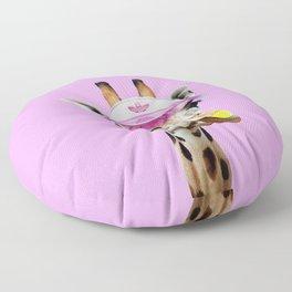 TENNIS GIRAFFE Floor Pillow