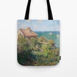 Fisherman's Cottage at Varengeville by Claude Monet Tote Bag