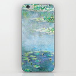Monet Water Lilies / Nymphéas 1906 iPhone Skin