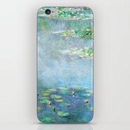 Monet Water Lilies / Nymphéas 1906 iPhone Skin