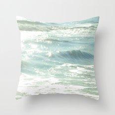 The Magical Sea Throw Pillow