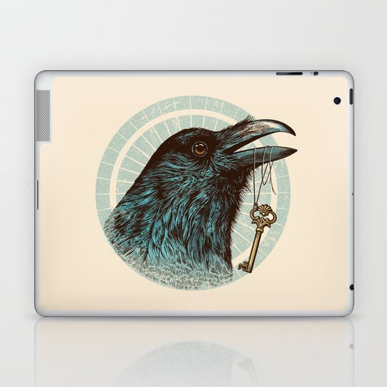 Raven's Head Laptop & iPad Skin