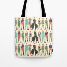7 Red Head Bowies Tote Bag