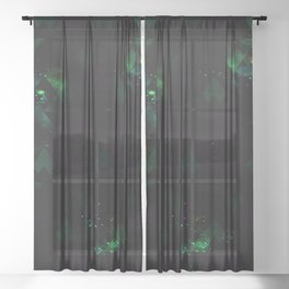 SPACE FIELD Sheer Curtain