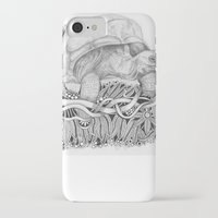 tortoise iPhone & iPod Cases featuring Tortoise by Squidoodle