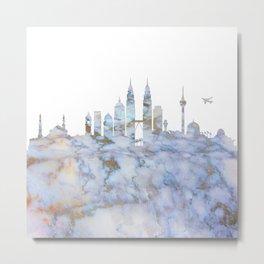Kuala Lumpur Malaysia Skyline Metal Print