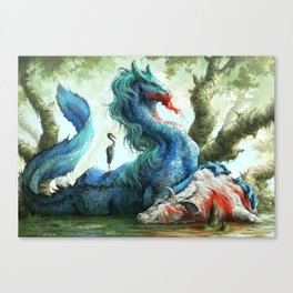 Kelpie Steed Canvas Print