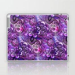 Purple Paisley Vision Laptop & iPad Skin