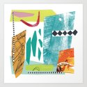 Moving Parts Collage by summerhouseart