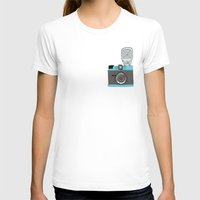 cameras T-shirts featuring Cameras by Josh Ross