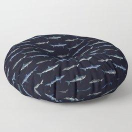 Shark Invasion Floor Pillow