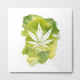 One Love: Fern Metal Print