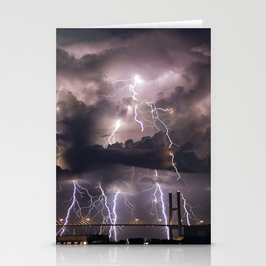 Talmadge Thunder Stationery Cards