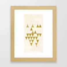 My Favorite Shape Framed Art Print