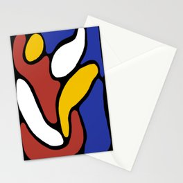 Mellow Mondrian Stationery Cards