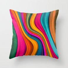 Lov Colors Throw Pillow
