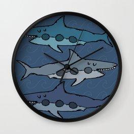 Don't be afraid of sharks Wall Clock