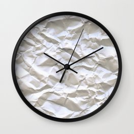 White Trash Wall Clock
