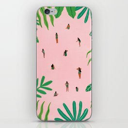Green swimsuit iPhone Skin