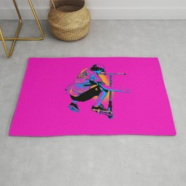 Flying Scooter Pro - Stunt Scooter Boy Rug