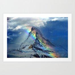 Matterhorne Art Print