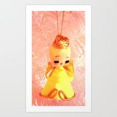 The Yellow Angel Art Print