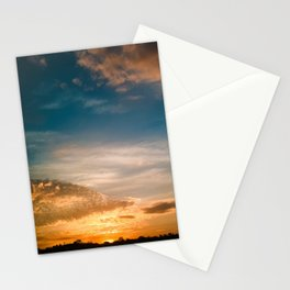 Where the sun rises Stationery Cards